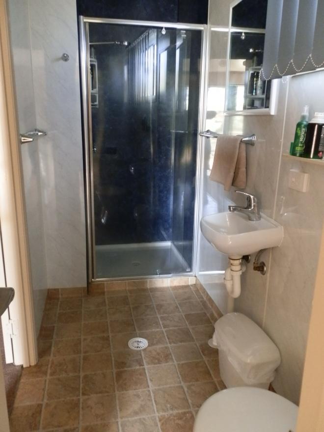 Family cabin bathroom
